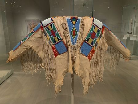 Costume indien au Metropolitan Museum of Art de New-York