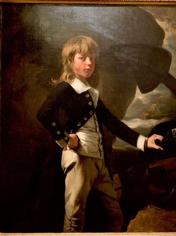 Peinture de John Singleton Copley au Metropolitan Museum of Art de New-York