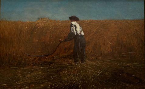 Le vétéran dans un nouveau champ, par Winslow Homer en 1865. Metropolitan Museum of Art de New-York