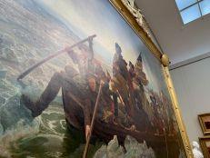 Washington traversant le Deleware au Metropolitan Museum of Art de New-York