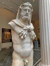 Statue d'Hercules au Metropolitan Museum of Art de New-York