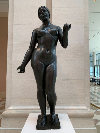 Statue de Maillol au Metropolitan Museum of Art de New-York