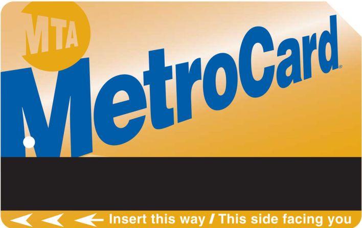 La métrocard pour prendre le bus et le métro à New-York