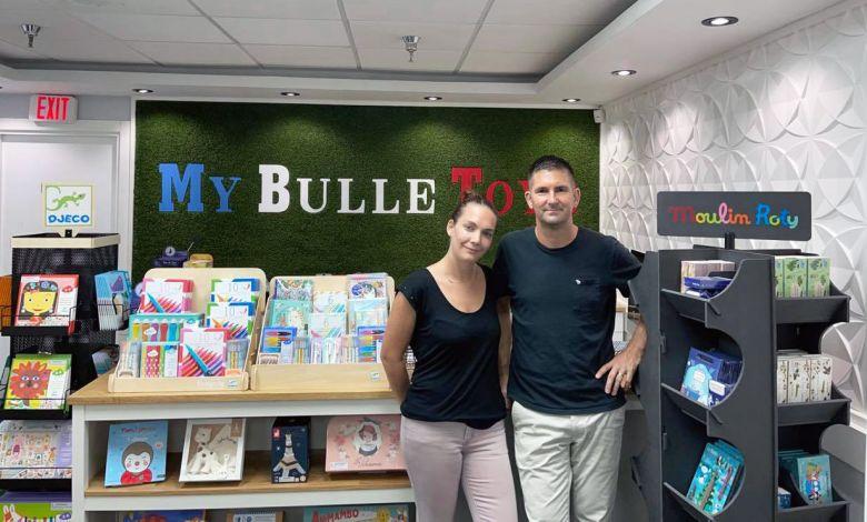 Nouvelle boutique de livres français, jouets et jeux éducatifs pour enfants en sud-Floride : My-Bulle Toys