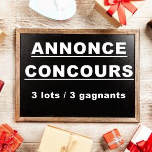 Concours lots cadeaux