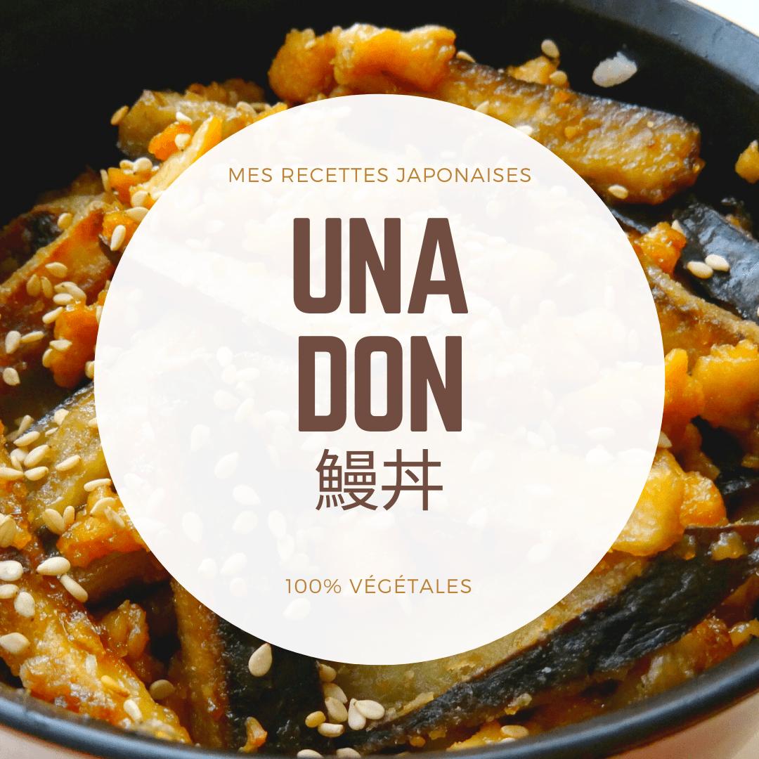 recette japonaise anguille grillée vegan unagi
