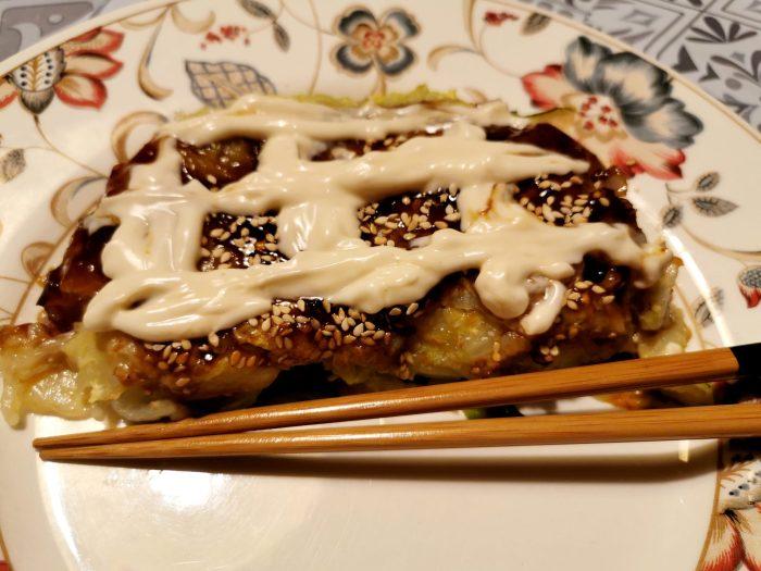 recette okonomiyaki vegan mayonnaise