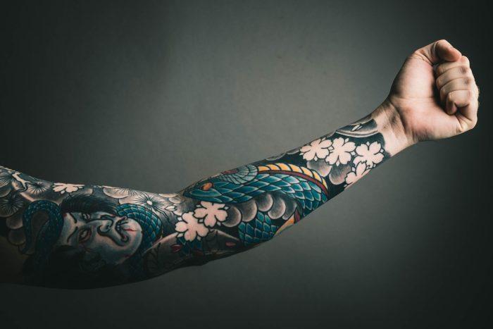 tattoo japonais yakuza