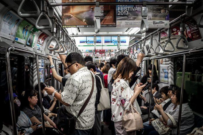 train transport en communs japon tokyo kyoto