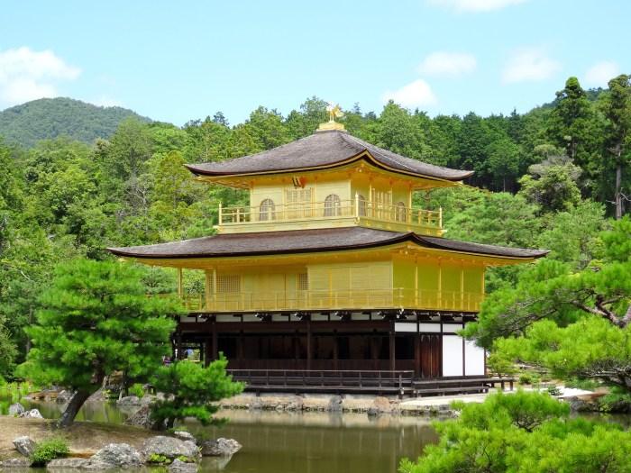 Temples les plus connus de Kyoto Pavillon d'or