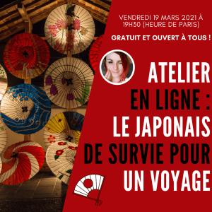 Japonais de survie pour un voyage