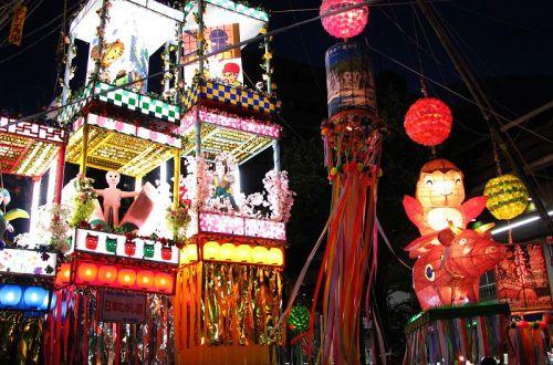 festival tanabata japon