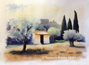Brigitte DESPLATS Petit cabanon (Visioateliers)