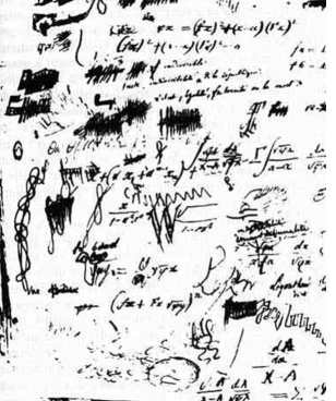 brouillon de maths