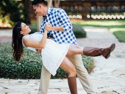 Danse de couple avec un meneur qui est débutant
