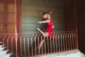 Couple de danseur argentin