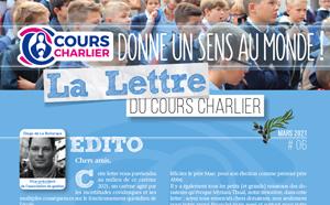 La lettre du Cours Charlier – Mars 2021