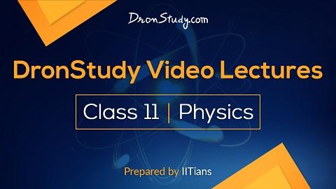 Class 11 PHYSICS – JEE