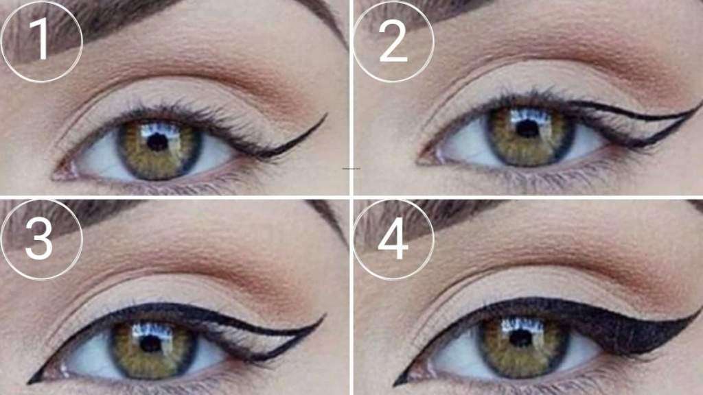 Hvordan man tegner pile foran dine øjne? 13 Utroligt enkle instruktioner med trin-for-trin fotos, hvordan man tegner pile på dine øjne for begyndere skønhed kreativitet tips til hver dag