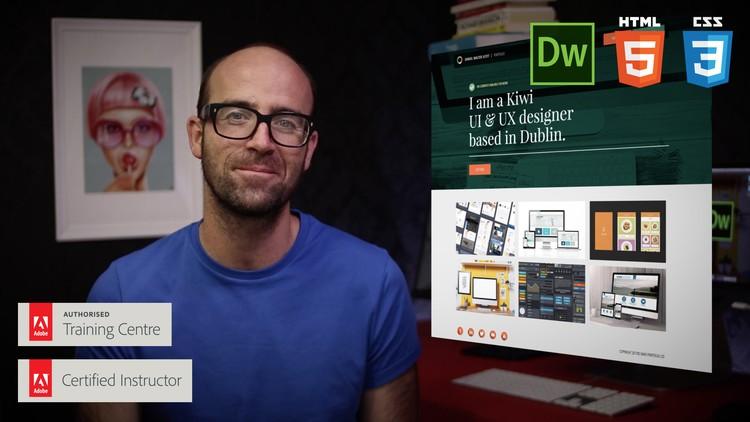 Responsive Design HTML CSS Web design Dreamweaver CC