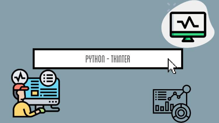 Build desktop application using Tkinter and Python