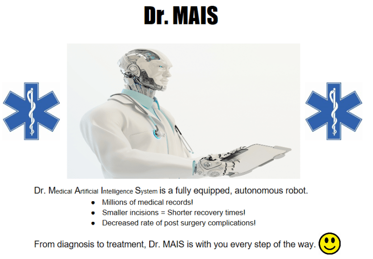MAIS , a medical artificial intelligence system designed to diagnose and treat patients