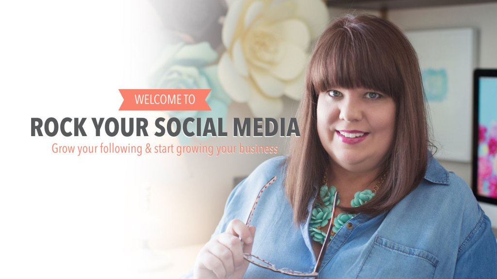 Ready to take control over our social media? Take my free course, Rock Your Social Media and learn how to strategically use your social media platforms to promote your business and sales.