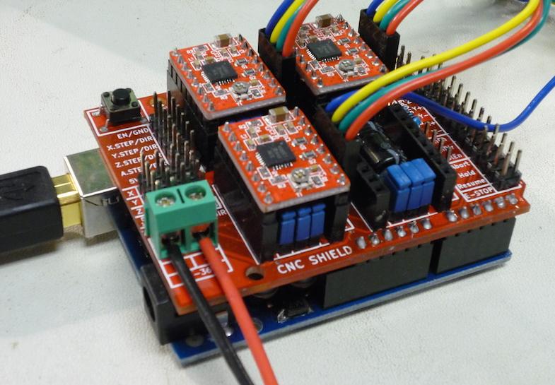 wiring arduino cnc shield wire data schema u2022 rh kiymik co Arduino CNC Shield Connection CNC Shield V3 Microstepping Setup