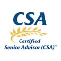 logo for CSA - Certified Senior Advisor