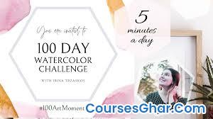 Skillshare – 100 Day Watercolor Challenge – 5 Minute Paintings – Build a Creative Habit