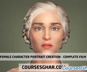 Udemy – Female Character Portrait Creation – Complete Film Pipeline 73GB