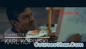 Kazone Art – Character Design With Karl Kopinski [Compressed]