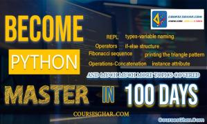 Learn Python in 100 Days Go From Noob To Pro - CoursesGhar