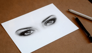 Let's Draw Sketch Realistic Eyes with Pencils