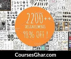 [CreativeMarket] 2200+ Design Elements Free Download - CoursesGhar.com