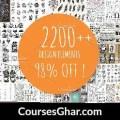 [CreativeMarket] 2200+ Design Elements Free Download – CoursesGhar.com