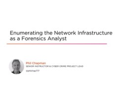 Enumerating the Network Infrastructure as a Forensics Analyst