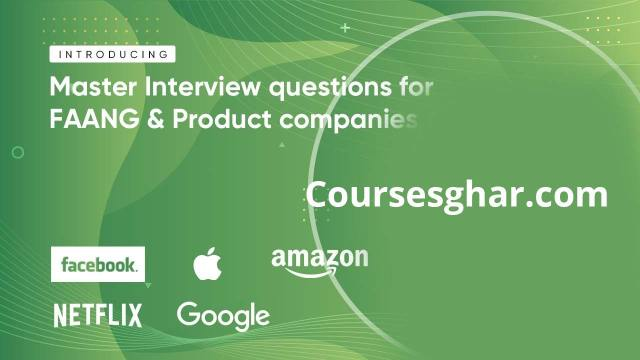 Master Interview Questions for FAANG & Product Companies Cover