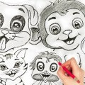 Drawing Animals – How To Draw Cartoon Characters