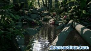 Gnomon Workshop Introduction to Creating Game-Ready Foliage
