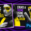 Create A Seamless Instagram Carousel Post in Adobe Photoshop Full Process