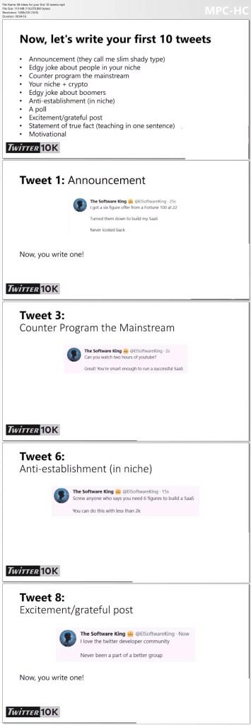 Alex Berman - Twitter 10k -