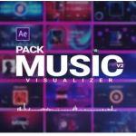 Videohive Music Visualizer Pack V2
