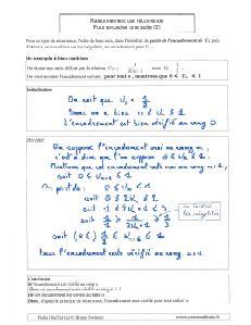 comment faire un raisonnement par recurrence pour encadrer encadrement suite majorer minorer ( 2 )