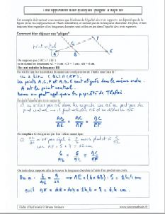 comment savoir calculer calcul longueur avec propriete de thales - des pieges a savoir eviter