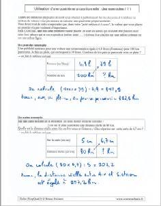 proportionnalite et 4eme quatrieme proportionnelle - exemples methode applications ( 1 )