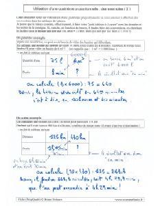 proportionnalite et 4eme quatrieme proportionnelle - exemples methode applications ( 2 )
