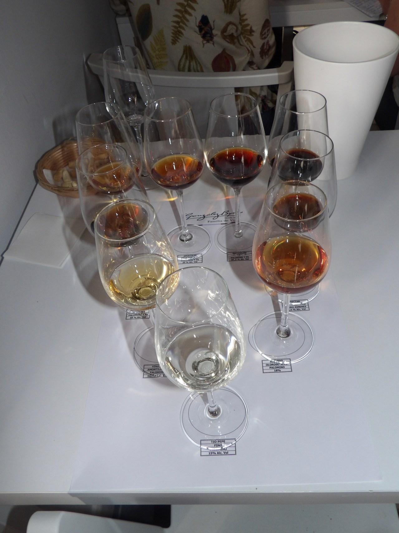 8 nuances de vins
