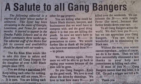 gang bangers clip