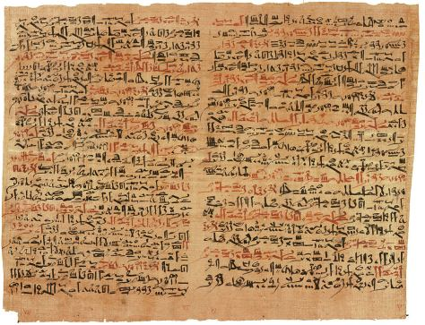Edwin Smith Papyrus - believed written by Imhotep 1,000 years before Hippocrates was born